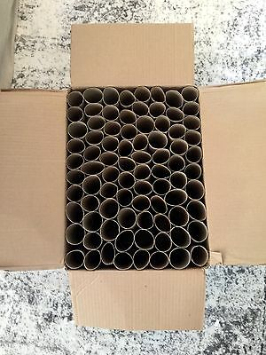 143 Toilet Paper Rolls Empty Clean Cardboard Tubes for Craft Projects