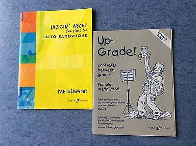 UP-GRADE ! Wedgwood + JAZZIN' ABOUT fun pieces for ALTO SAXOPHONE Wedgwood