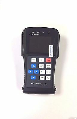 Proffesional Portable CCTV camera Tester Video Monitor LCD Panel UTP