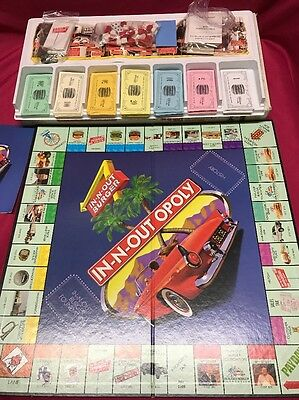 Monopoly In n out Burger In-n-out opoly Rare