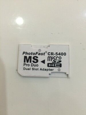 Micro Sd To Memory Stick Pro Duo Adapter Dual Photofast Cr-5400