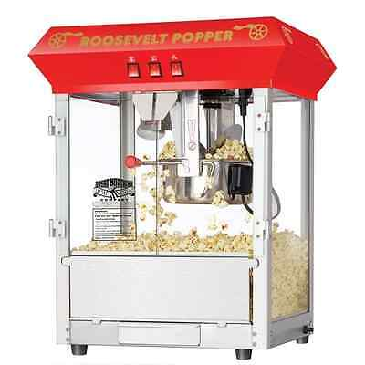 Great Northern Popcorn Roosevelt Top Antique Style Popper Machine Party 8 Oz.