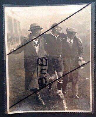 Real Press Photo Springbok South Africa 1930 Rugby