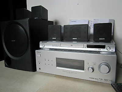 Sony HT-DDWG700 - 5.1 Home Theatre System mit Pioneer DVD Player DV-380S