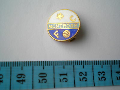 MONTROSE FOOTBALL CLUB (Scotland) PIN BADGE