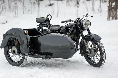 1954 Other Makes Attach  1954 Motorcycle, vintage, good condition
