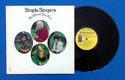 Staple Singers ~ Be What You Are ~ 1973 (US) ~ STAX STS-3015 ~ Motown Soul