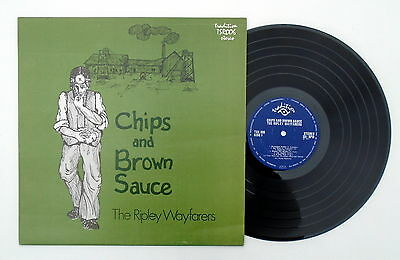 The Ripley Wayfarers ~ Chips and Brown Sauce ~ 1971 (UK) ~ 12 Track LP ~ Folk