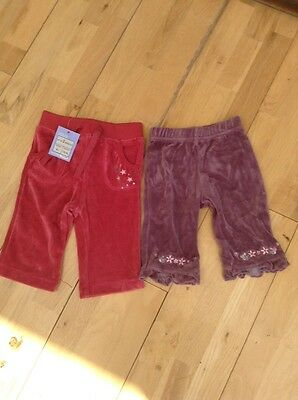 Baby Girls Trousers/leggings Age 0-3 months.