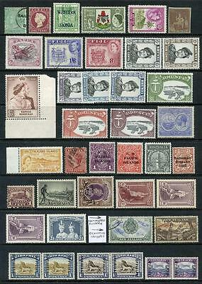 Commonwealth Mixed Mint and Used Stamp Lot, QV - QEII. Cat est in region of £675