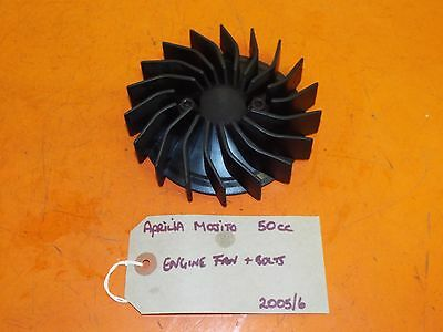 Aprilia Mojito 50cc 2005/6 Engine Cooling Fan and Bolts