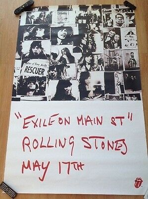 Exile on Main Street rail station poster