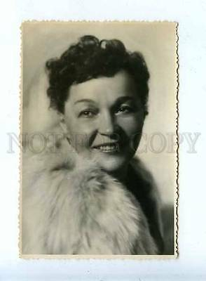 185085 USSR MOVIE STAR MARETSKAYA Lenfotohudozhnik 1955 year