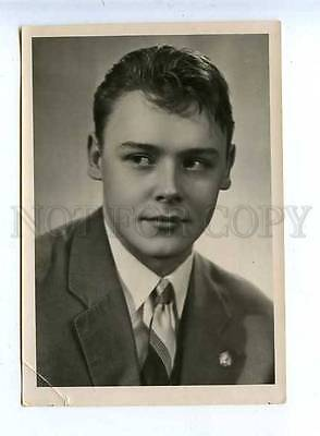 185097 USSR MOVIE STAR STOLYAROV Lenfotohudozhnik 1959 year