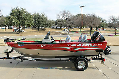 2013 Tracker Pro Guide V16 60Hp 4 Stroke Mercury And Trailer 12 Hrs No Reserve