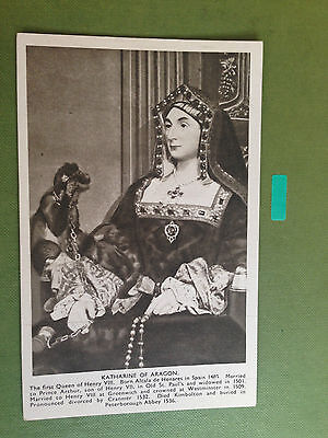 Katharine Of Aragon The First Queen Of Henry Viii Postcard