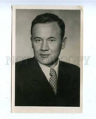 185112 USSR MOVIE STAR ANDREYEV Lenfotohudozhnik 1954 year