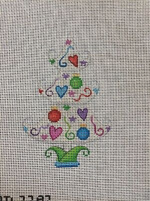 ACOD A Collection of Designs HP Needlepoint Canvas Christmas Tree Ornament
