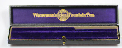 Waterman Fountain Pen #22 Taper Cap BCHR   Wide Bands w15152 D1884 132 Year Old