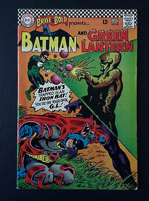 The Brave and the Bold #69 vg+/FN Batman/Green Lantern