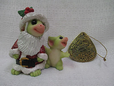 Whimsical World Of Pocket Dragons There Is A Santa by Real Musgrave NIB