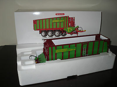 WIKING 1/32 Scale  Strautmann Tera-Vitesse Forage Wagon/Box (NEW)