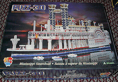 Mississippi Steamboat, Wrebbit Puzz 3D, Puzzle