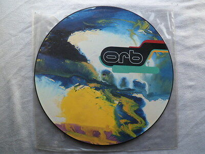 """The Orb -Perpetual Dawn Mispressed 12"""" Vinyl Picture Disc -Plays 'towers Of Dub'"""