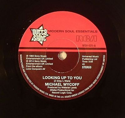 """WYCOFF, Michael - Looking Up To You - Vinyl (7"""")"""