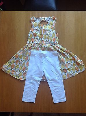Girls Dress And Leggings By Next