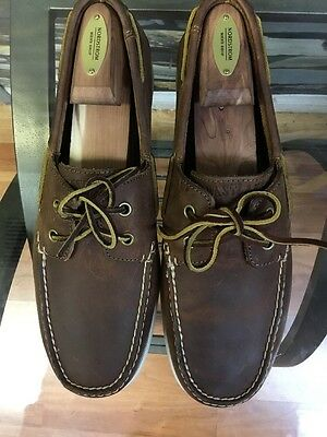 Eastland Freeport Men's Boat Shoes Brown Size 11D Style#4511-07