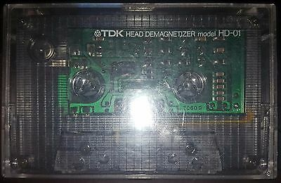 Vintage TDK HD-01 Audio Cassette Head Demagnetizer FREE FROM USA Shipping