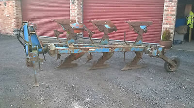 Ransomes 3 furrow plough for tractor
