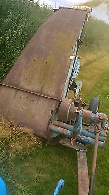 Flail Mower, Trailed topper behind tractor