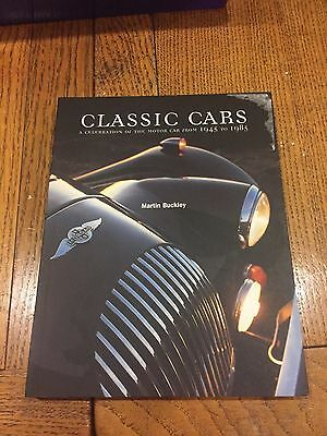 Classic Cars Paperback Book By Martin Buckley