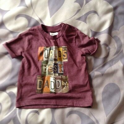 Baby boys F+F t-shirt. Age 3-6 months. New.