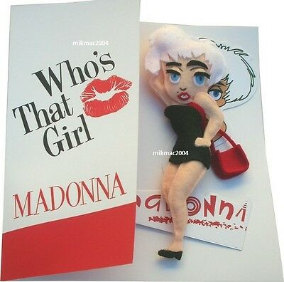 MADONNA - MUSIC BOX SET with RAG DOLL , 5x VINYLS + OTHERS ONLY 25 MADE LTD EDTN