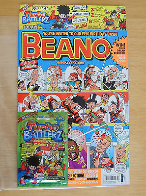 75th Anniversary Beano Special (Issue 3695, July 2013) with Free Gift