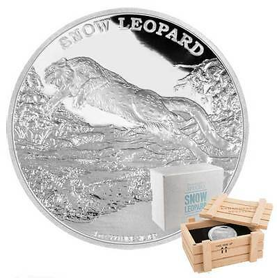 2016 Endangered Species Snow - 1oz Limited Edition Proof Silver Coin