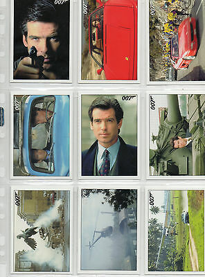 James Bond - Goldeneye - Lot of 11 Throwback Cards NM Rittenhouse