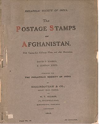 The Postage Stamps of Afghanistan by Masson