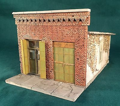 NEW On30/On3/O-Scale Rich White Models-Casaretto Bros Hardware-Hydrocal Walls