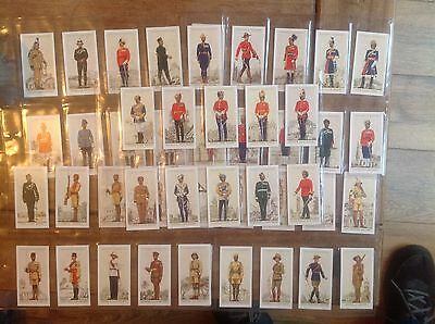 Cigarette Cards military Uniforms of the British Empire Overseas full Set 50