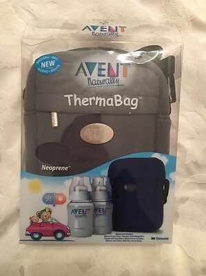 Avent Thermabag Brand New In Box. Grey.