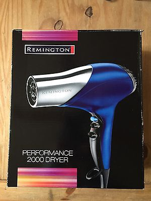 Remington Performance 2000 Hair Dryer In Good Working Order