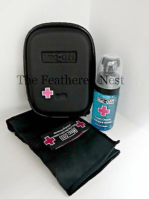 Muc-Off Screen Cleaner go kit.  - for Phones, Tablets. TVs, Laptops