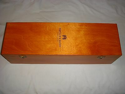 Fortnum And Mason Wooden Wine Box - In Very Good Condition.