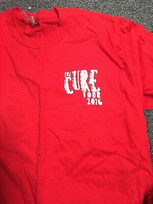 The Cure 2016 Tour Local Crew Rigger Shirt