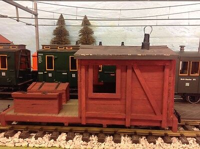 G gauge 32mm Logging caboose/work car.