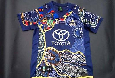 North Queensland Cowboys Nine NRL Home 2017 Rugby Jersey Size S-XXL